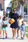 Jennifer Garner out with kids Seraphina, Violet and Sam Affleck