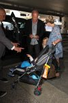 kelsey-grammer-pregnant-wife-kayte-walsh-and-their-two-kids-faith-evangeline-and-kelsey-gabriel-at-lax