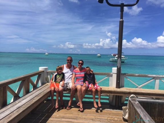 our family at Beaches Turks and Caicos