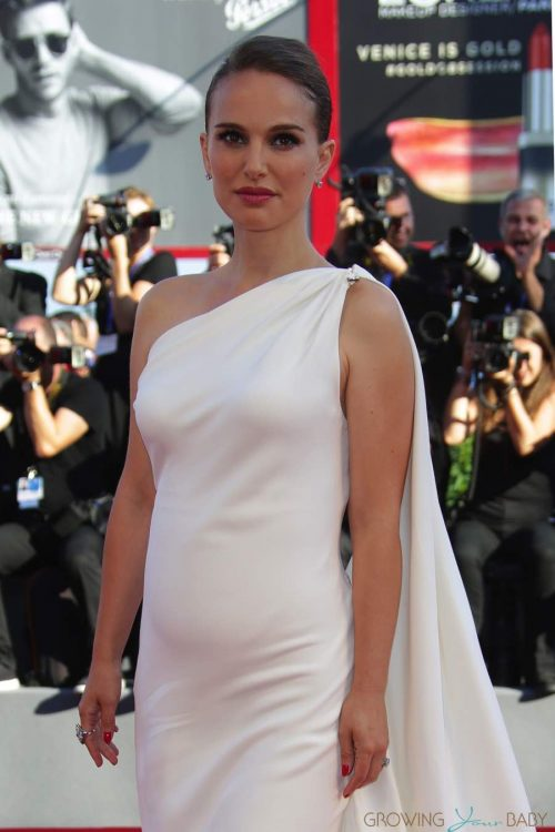 Pregnant Natalie Portman at the Venice film festival