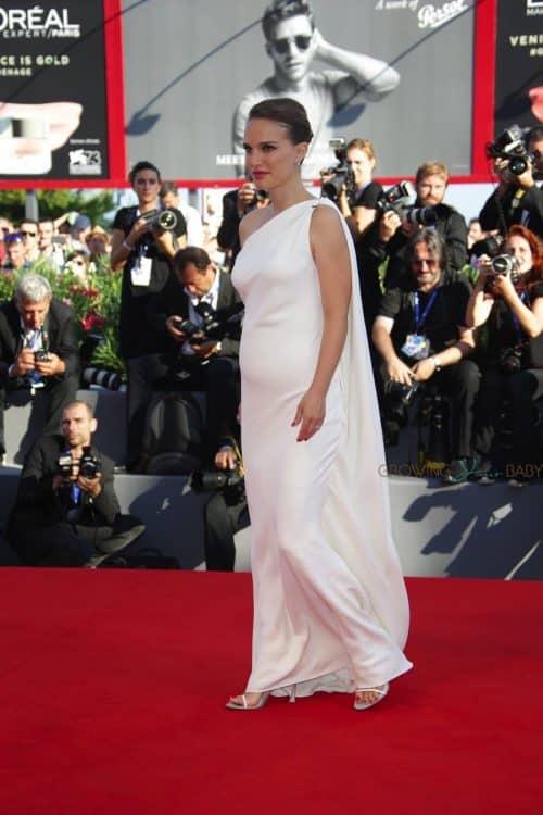 Pregnant Natalie Portman at the Venice Film Festival