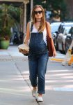 Pregnant Olivia WIlde out in NYC