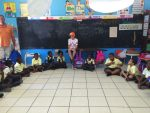 Sandals Foundation - my son reading to a grade one class