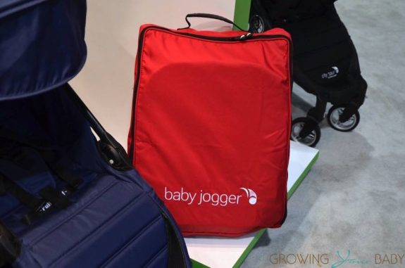 2016 baby jogger city tour stroller folded