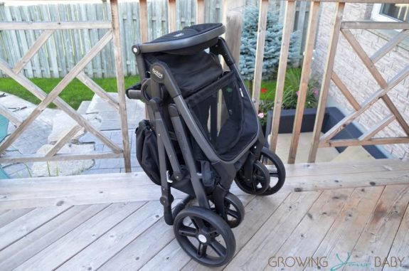 2017 Britax B-Ready folded