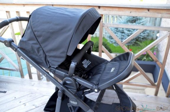 2017 Britax B-Ready fully reclined