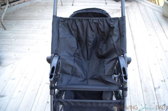 2017 Britax B-Ready second seat panel protector