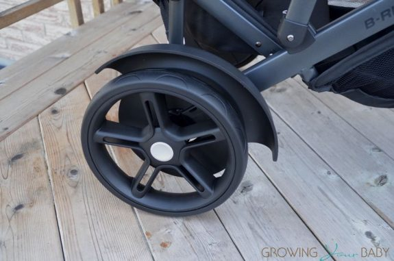 2017 Britax B-Ready second seat mud guards