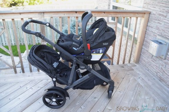 2017 Britax B-Ready second seat with infant seat