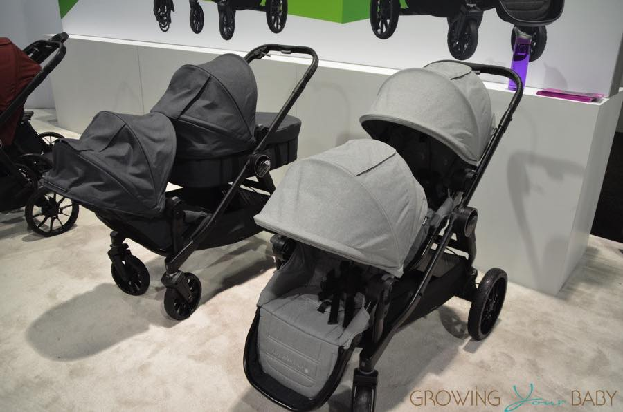 2017 Baby Jogger City Select Lux As A Double Growing
