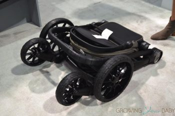 2017 Baby Jogger City Select Lux stroller - folded