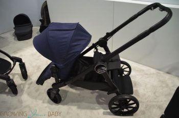 2017 Baby Jogger City Select Lux stroller - jump seat