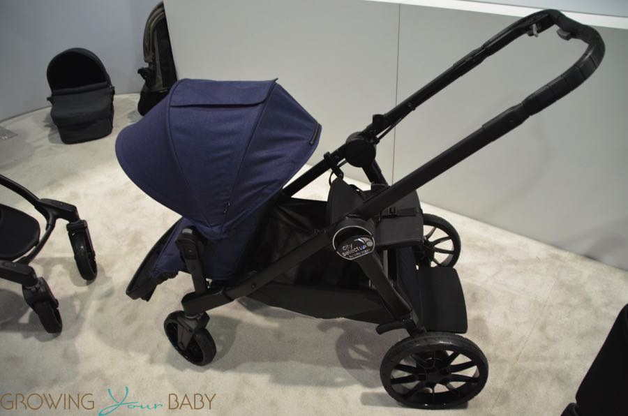 2017 Baby Jogger City Select Lux With Front Seat And Jump