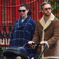 Anne Hathaway and Adam Shulman Stroll With Their Son in NYC