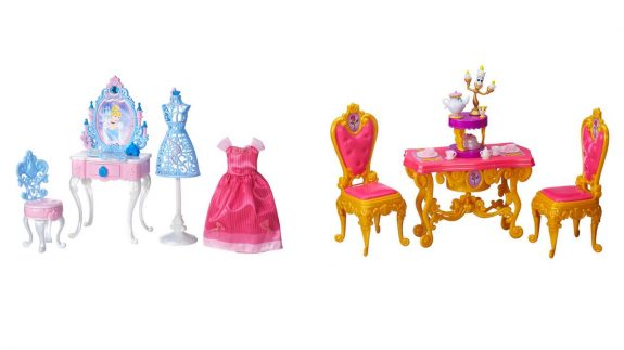 Disney Princess castle accessories