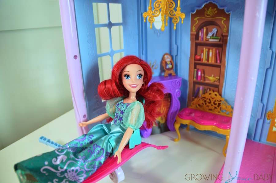 disney princess royal dreams castle 2016 magic carpet elevaotr