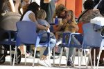 Elsa Pataky at Warner Bros Amusement Park in Spain