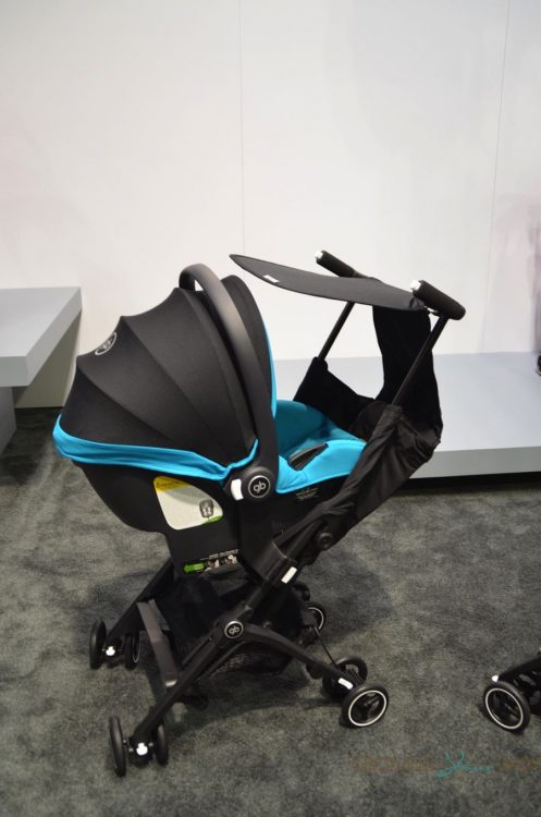 2017 GB Pockit Plus stroller travel system