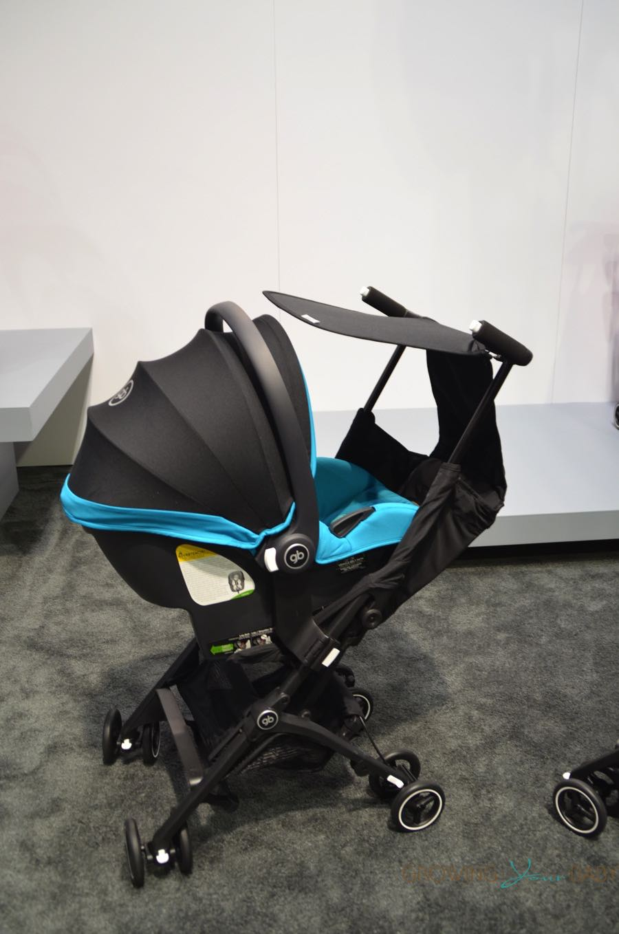 gb-pockit-plus-stroller-with-infant-car-seat - Growing Your Baby