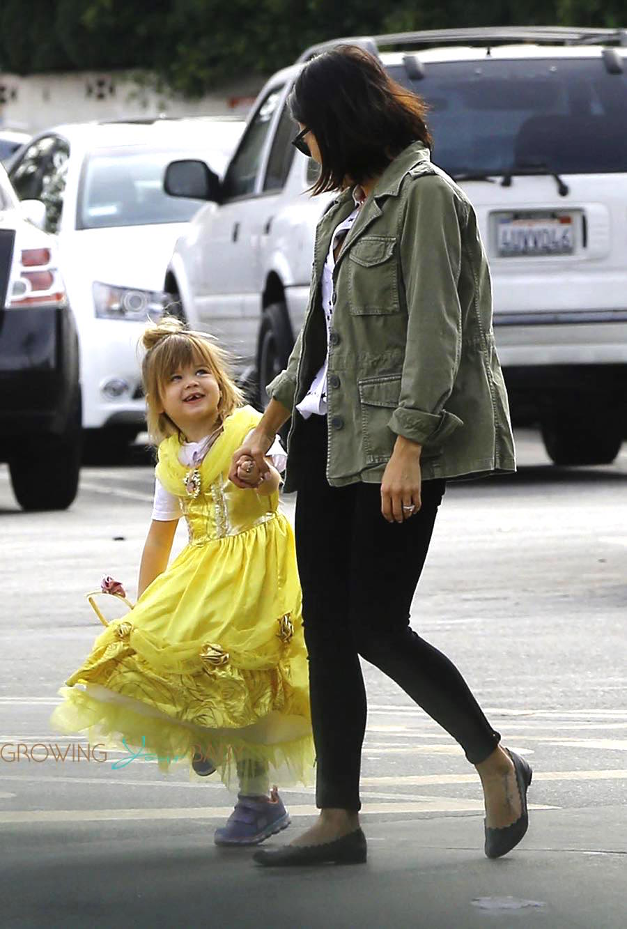 Jenna Dewan out in LA with her daughter Everly Tatum
