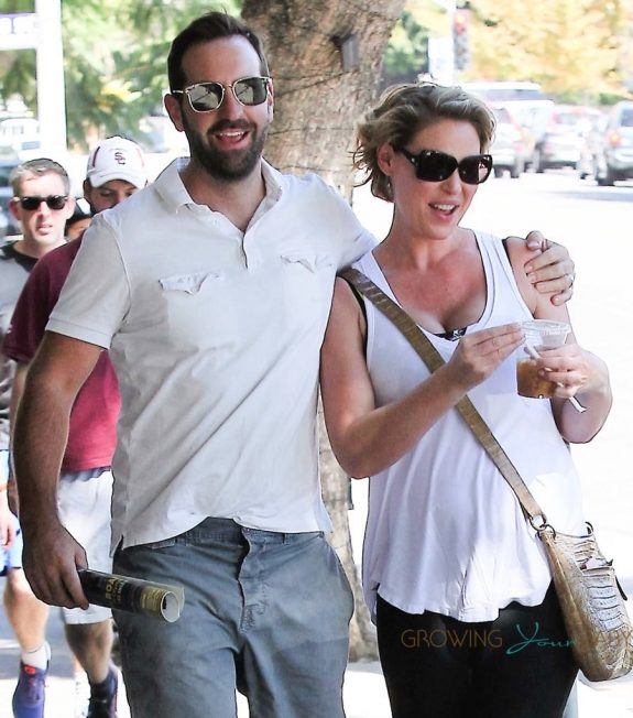 Josh Kelley and a pregnant Katherine Heigl out in LA