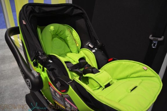 Kiddy evolution pro 2 lay falt infant car seat