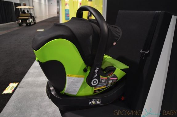 Kiddy evolution pro 2 lay flat infant car seat