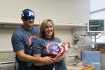 March of Dimes Super NICU babies Halloween - avengers