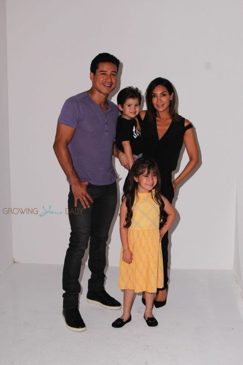 Mario Lopez and his family at the Elizabeth Glaser Pediatric AIDS Foundation's 27th Annual A Time For Heroes