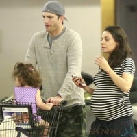 Mila Kunis Runs Errands in LA With Her Family