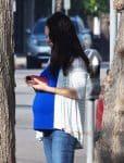 Pregnant Mila Kunis Runs Errands in LA