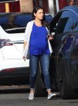 Pregnant Mila Kunis Steps Out With her Her Family in LA