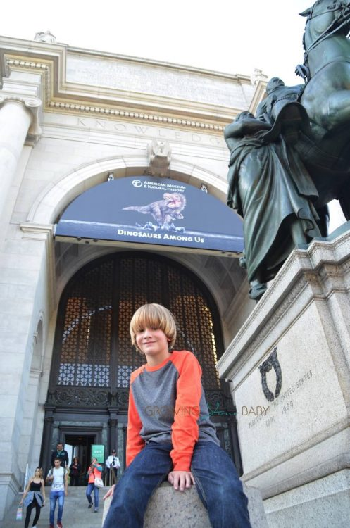 Visiting the American Museum of natural history