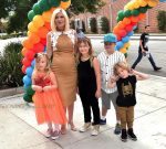 Pregnant Tori Spelling At the Elizabeth Glaser Pediatric AIDS Foundation's 27th Annual A Time For Heroes
