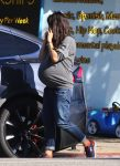 A Very Pregnant Mila Kunis steps out in LA - November 2016
