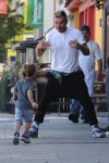 Gavin Rossdale out in LA with his boys