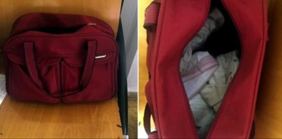 Mom Tries To Smuggle 4 Week-Old Baby In Her Handbag