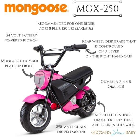 Mongoose MGX 250