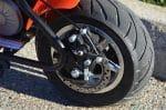 Mongoose MGX-250 - back wheel
