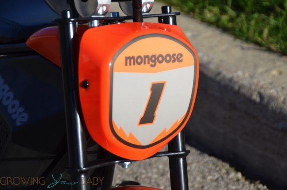 Mongoose MGX-250 - front plate