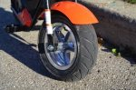 Mongoose MGX-250 - front wheel