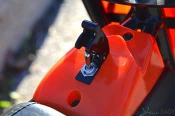 Mongoose MGX-250 - on switch