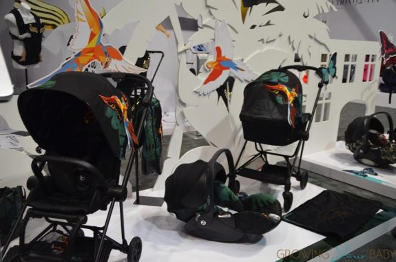 New Cybex birds of paradise collection