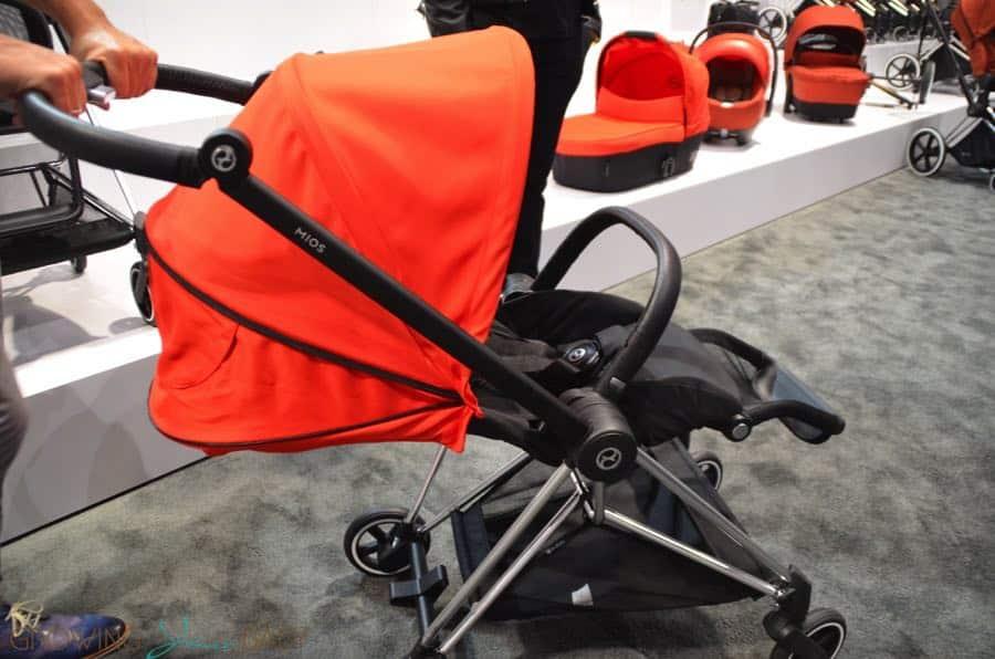 New Cybex Mios Lightweight Stroller Reclined Growing