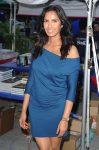 Padma Lakshmi attended the Miami Book Fair International on November 19, 2016 in Miami, Florida