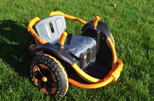 Spin and Zig Zag With The Power Wheels Wild Thing! {VIDEO REVIEW}