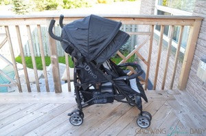 Summer Infant 3D Two Convenience Double Stroller Review {VIDEO}