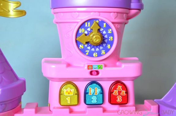Vtech Go! Go! Smart Friends enchanted Princess Palace - clock tower