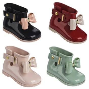 mini melissa rainboots