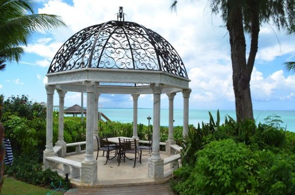 Beaches Resort Turks and Caicos - beach front gazebo caribbean village